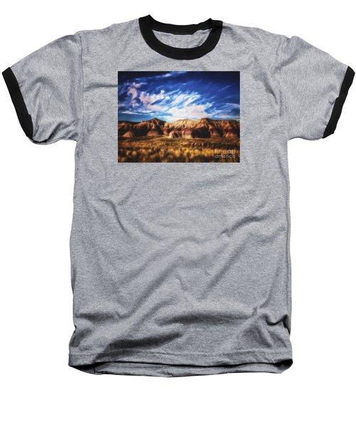 Baseball T-Shirt featuring the photograph Northern Arizona Painted Desert  ... by Chuck Caramella