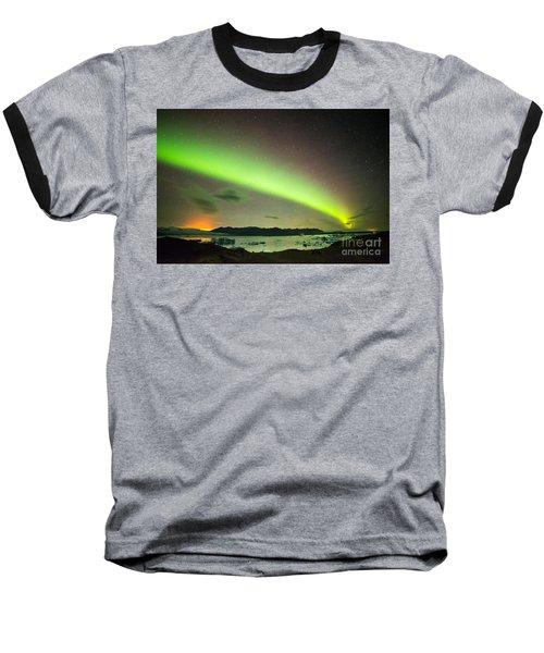 Northern Lights 6 Baseball T-Shirt