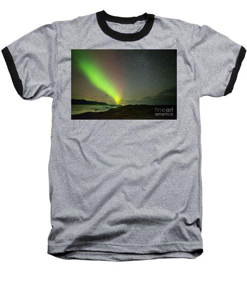 Northern Lights 7 Baseball T-Shirt