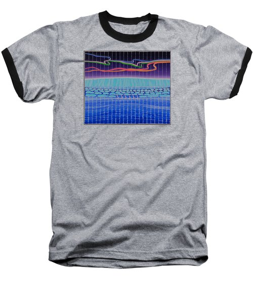 Northern Lights Ballet Production Baseball T-Shirt