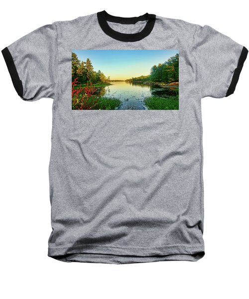 Northern Ontario Lake Baseball T-Shirt