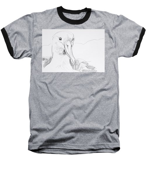 Northern Royal Albatross Baseball T-Shirt