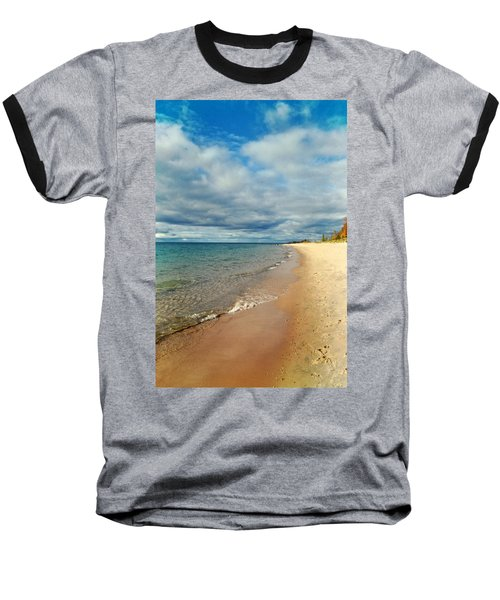 Baseball T-Shirt featuring the photograph Northern Shore by Michelle Calkins