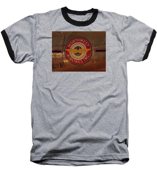 Northwest Airlines 1 Baseball T-Shirt