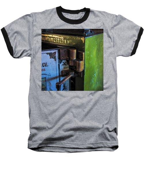 Baseball T-Shirt featuring the photograph Northwestern Safe by Paul Freidlund