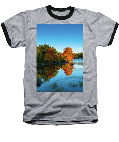 Northwood Lake Autumn Baseball T-Shirt