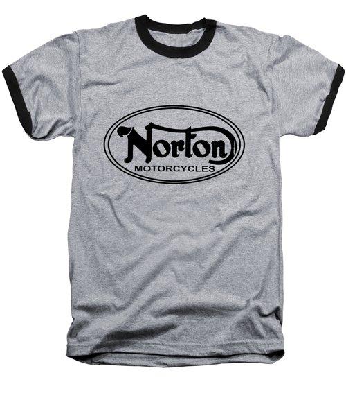 Norton Motorcycles Baseball T-Shirt
