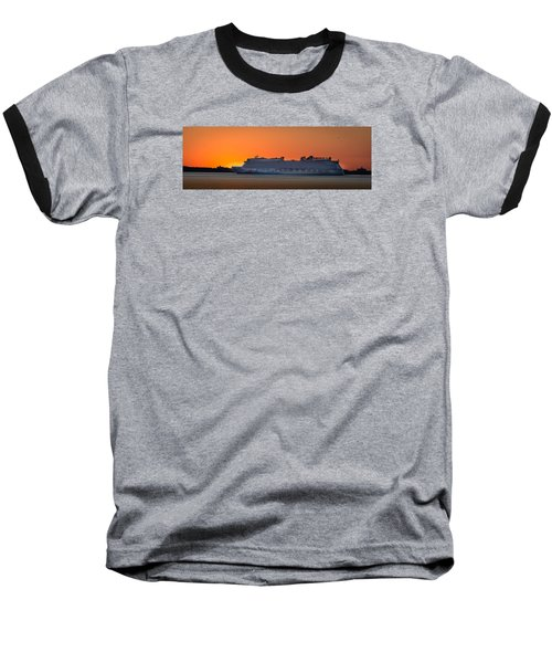 Norwegian Breakaway Baseball T-Shirt