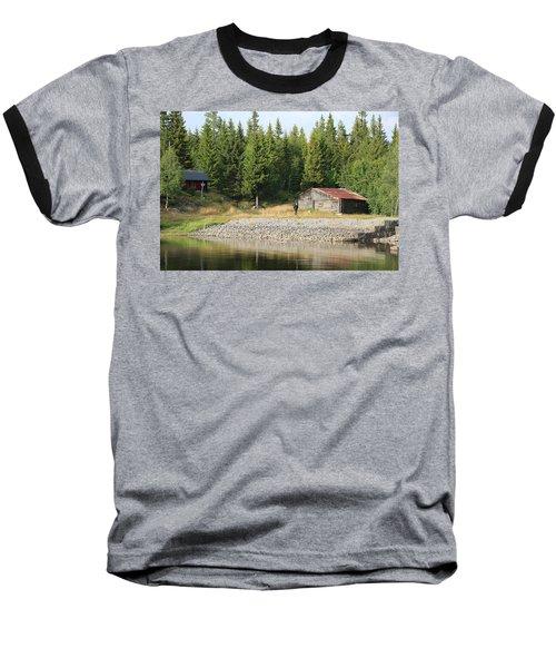 Norwegian Forrest Baseball T-Shirt