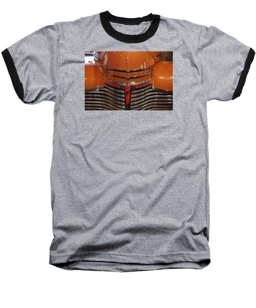 Nose 1941 Chevy Baseball T-Shirt by John Schneider
