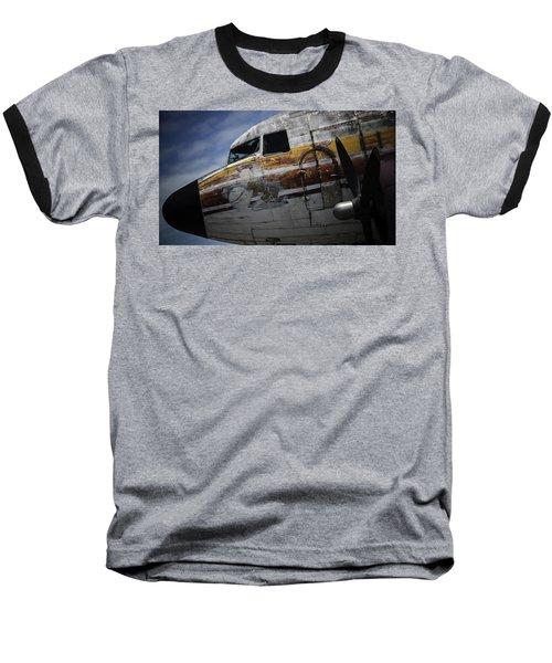 Nose Art Baseball T-Shirt