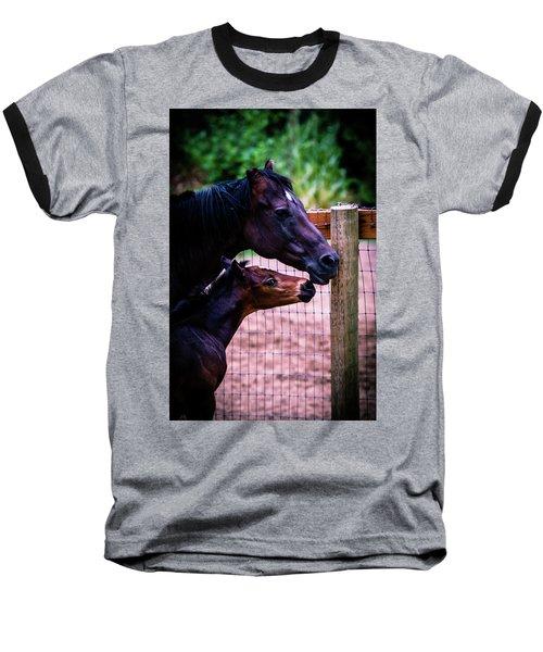 Nose To Nose Baseball T-Shirt