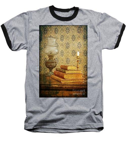 Baseball T-Shirt featuring the photograph Nostalgic Memories by Heiko Koehrer-Wagner