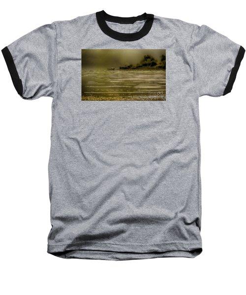 Nostalgic Morning Baseball T-Shirt by Jivko Nakev