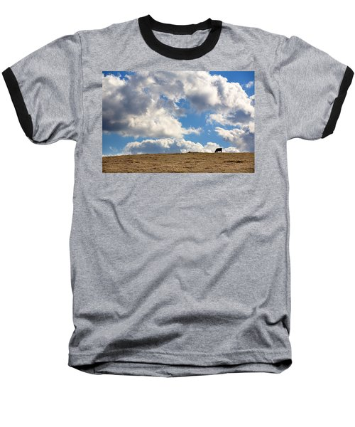 Not A Cow In The Sky Baseball T-Shirt