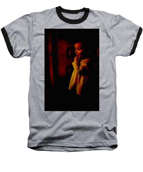 Not Afraid Of The Dark Baseball T-Shirt