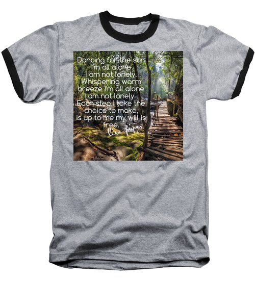 Baseball T-Shirt featuring the photograph Not Alone by Lisa Piper