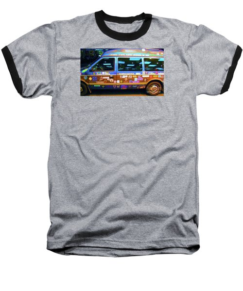 Grateful Dead - Not Fade Away Baseball T-Shirt by Susan Carella
