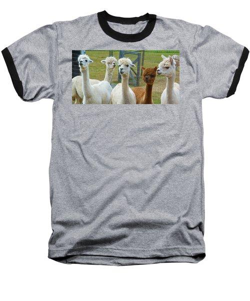 Not From Around Here Baseball T-Shirt