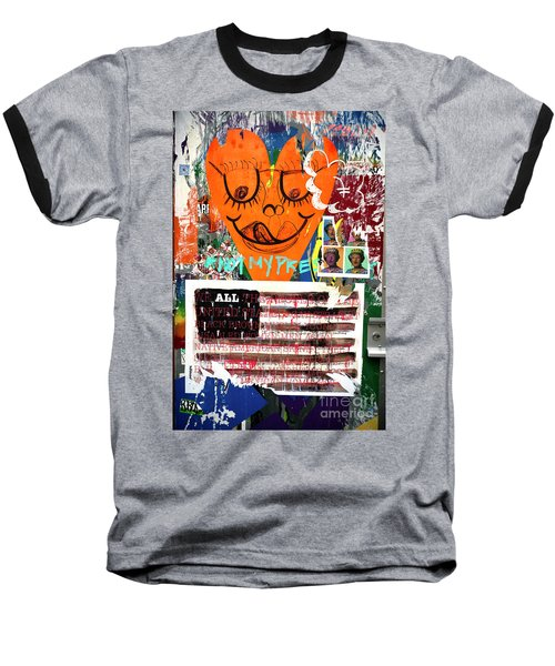 Not My President Baseball T-Shirt