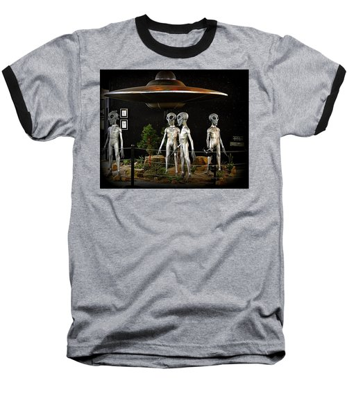 Not Of This Earth Baseball T-Shirt