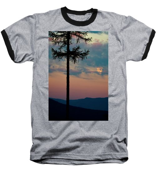 Baseball T-Shirt featuring the photograph Not Quite Clearcut by Albert Seger