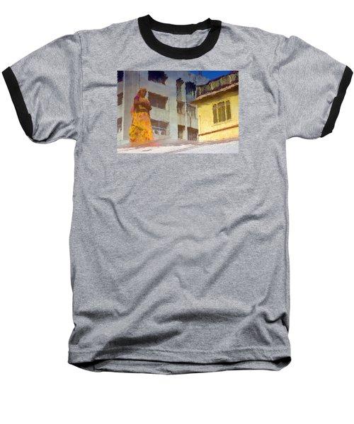 Not Sure Baseball T-Shirt by Prakash Ghai