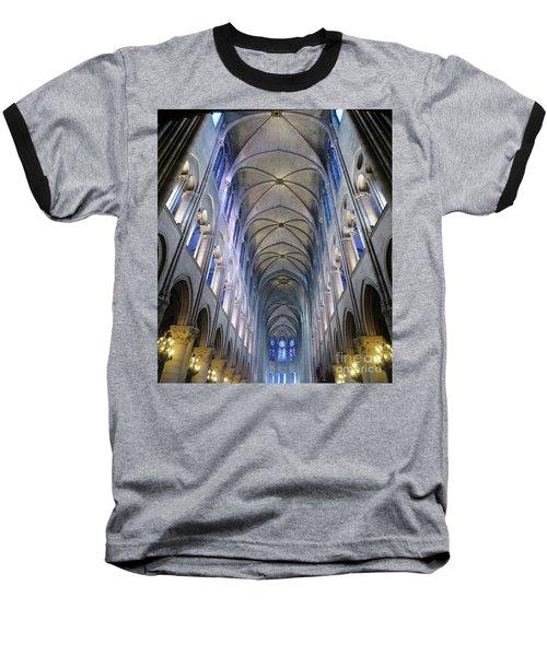 Notre Dame De Paris - A View From The Floor Baseball T-Shirt