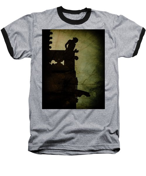 Paris, France - Gargoyle Watch Baseball T-Shirt
