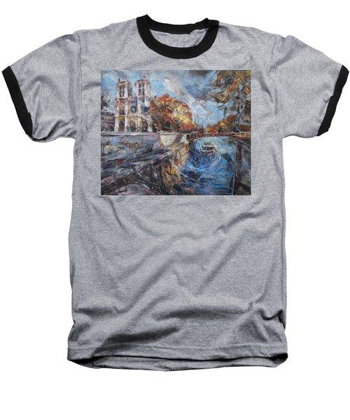 Notre-dame De Paris Baseball T-Shirt