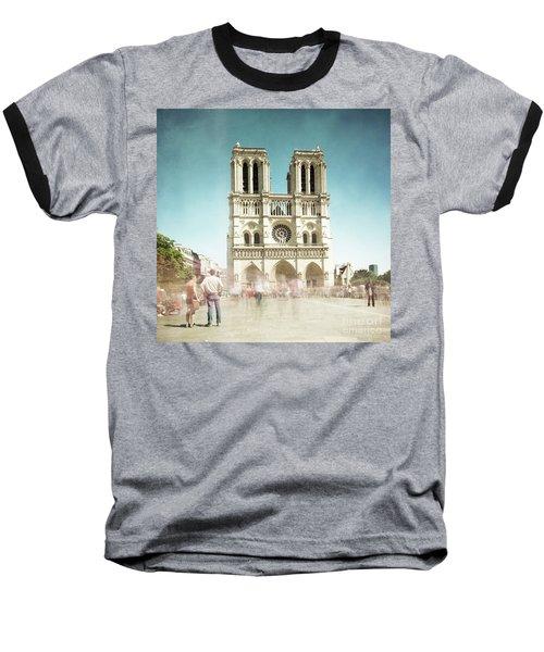 Baseball T-Shirt featuring the photograph Notre Dame by Hannes Cmarits