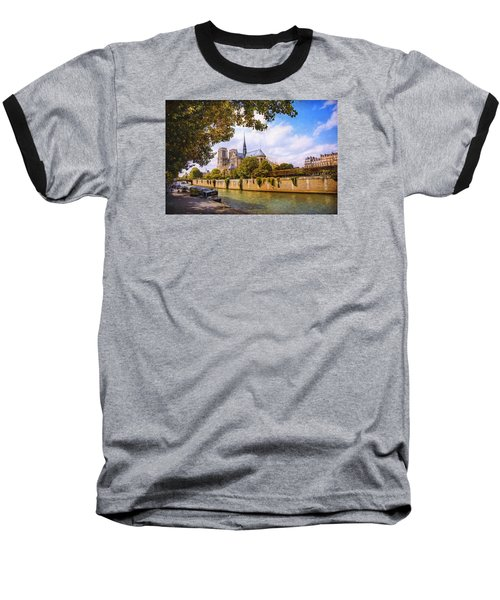 Notre Dame Baseball T-Shirt by John Rivera