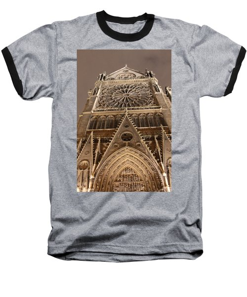 Baseball T-Shirt featuring the photograph Notre Dame North by Christopher Kirby
