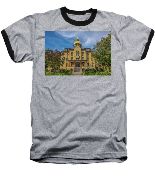Notre Dame University Golden Dome Baseball T-Shirt