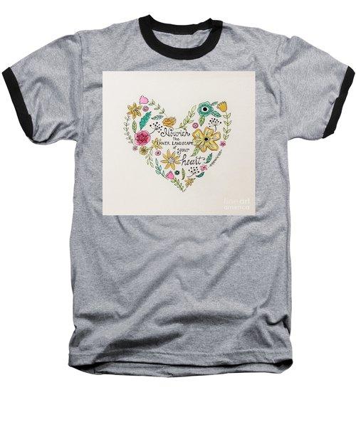 Nourish Baseball T-Shirt