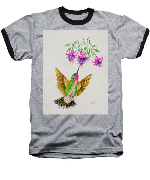 Baseball T-Shirt featuring the painting Nourishment  by Katherine Young-Beck