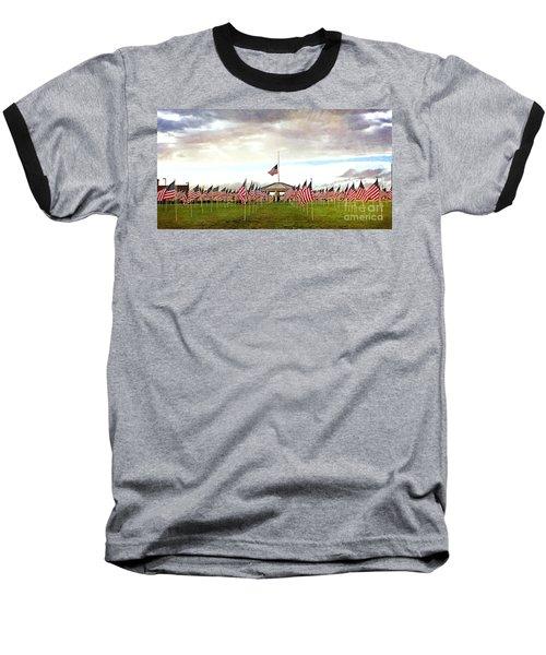 Baseball T-Shirt featuring the photograph Nov5th Memorial - No.2009 by Joe Finney