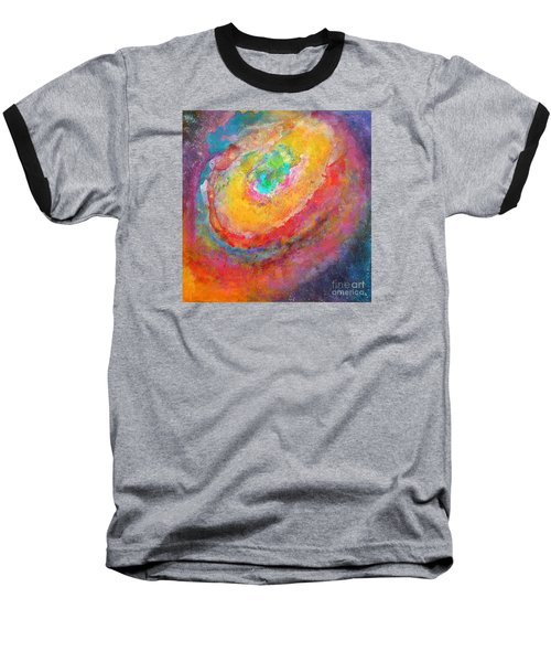 Fantasies In Space Series Painting. Aurora Concerto.  Baseball T-Shirt