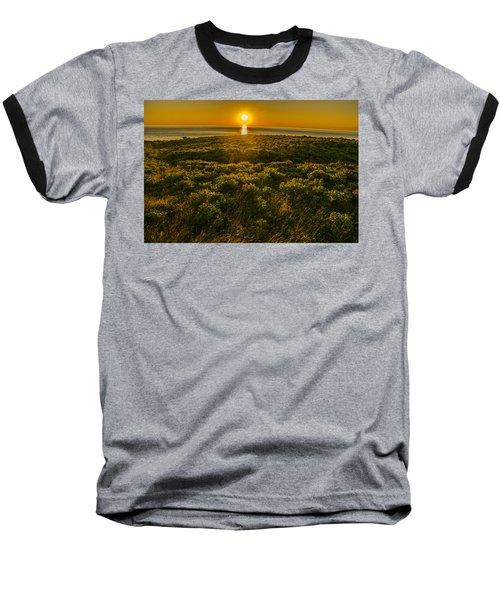 Nova Scotia Dreaming Baseball T-Shirt by Will Burlingham