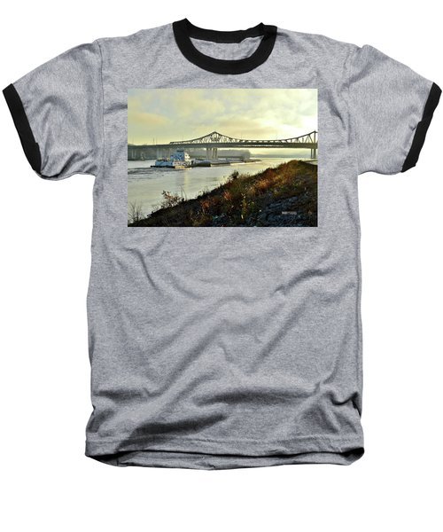 November Barge Baseball T-Shirt