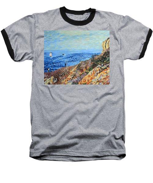 November Day At Point Lobos San Francisco Baseball T-Shirt