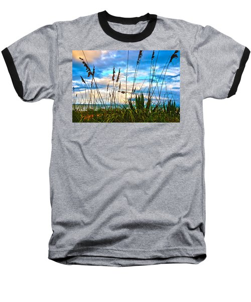 November Day At The Beach In Florida Baseball T-Shirt