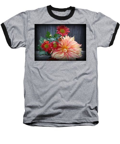 November  Flowers - Still Life Baseball T-Shirt