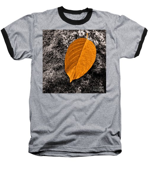 November Leaf Baseball T-Shirt