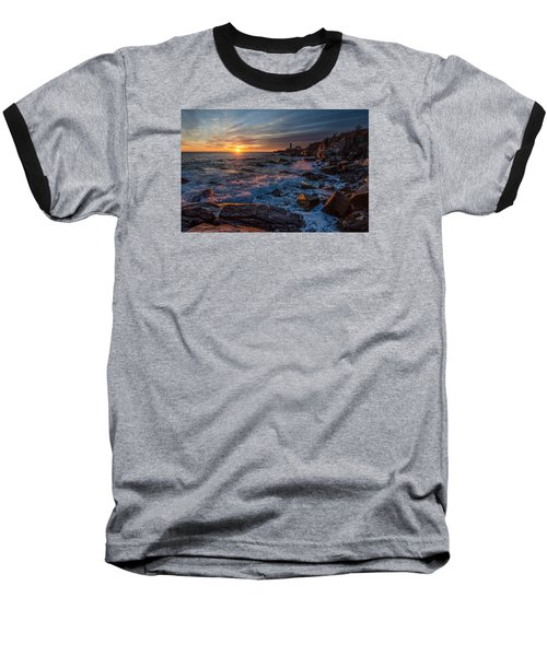 Baseball T-Shirt featuring the photograph November Morning by Paul Noble