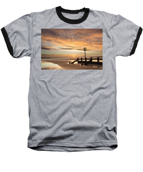 November Sunrise Baseball T-Shirt