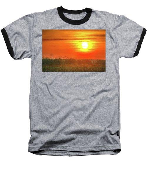 November Sunset Baseball T-Shirt