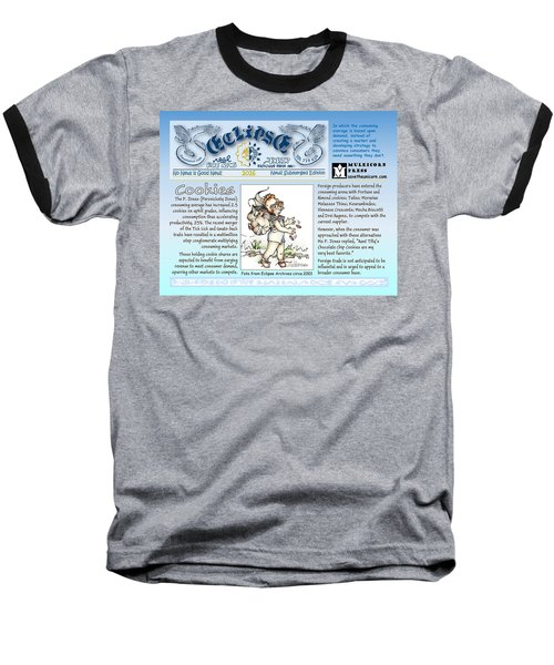 Real Fake News Cookies Excerpt Baseball T-Shirt