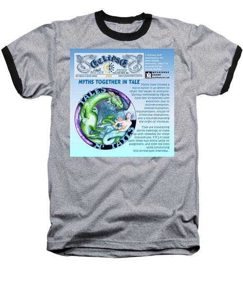 Real Fake News Excerpt Baseball T-Shirt