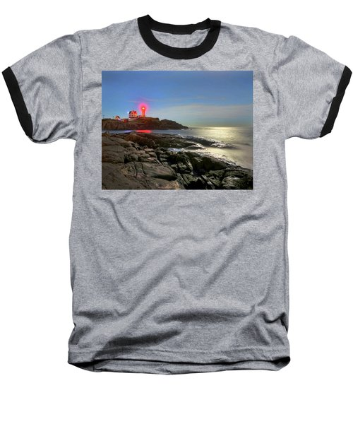 Nubble Light 457 Baseball T-Shirt